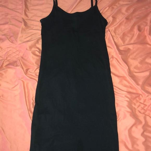 d9f6b5d3cfb5 Forever 21 Dresses | Forever21 Plain Black Cami Dress | Poshmark